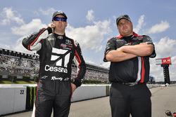Kyle Busch, Kyle Busch Motorsports, Toyota Tundra Cessna and Rudy Fugle