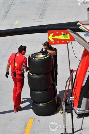 Ferrari Pirelli-banden