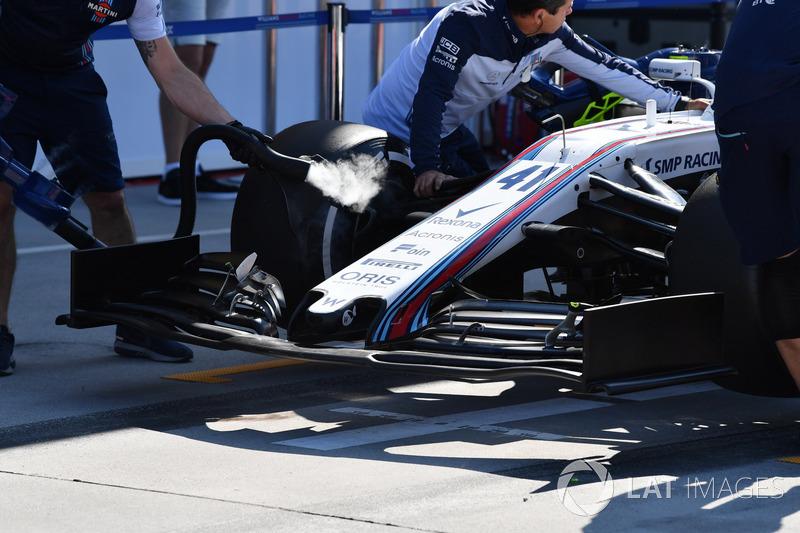 Williams FW41 ön kanat