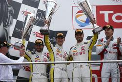 Podium: #99 ROWE Racing BMW M6 GT3: Jens Klingmann, Nicky Catsburg, Alexander Sims