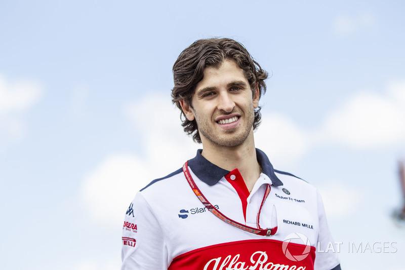 Bestätigt für 2019: Antonio Giovinazzi (Italien)