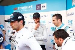 Nelson Piquet Jr., Jaguar Racing, Jean-Eric Vergne, Techeetah, Sébastien Buemi, Renault e.Dams nel media pen