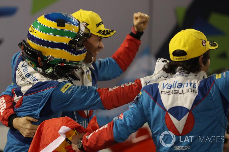 LMP2 ganador #31 Vaillante Rebellion ORECA 07-Gibson: Julien Canal, Nicolas Prost, Bruno Senna