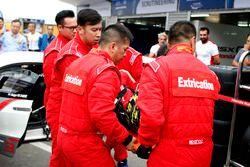 Práctica de extracción con Renger van der Zande, Honda Motor, Honda NSX GT3