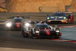 Автомобиль №8 команды Toyota Gazoo Racing, Toyota TS050 Hybrid: Энтони Дэвидсон, Себастьен Буэми, Казуки Накаджима