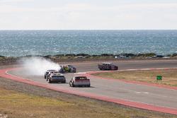 Juan Manuel Silva, Catalan Magni Motorsport Ford, Jonatan Castellano, Castellano Power Team Dodge, S