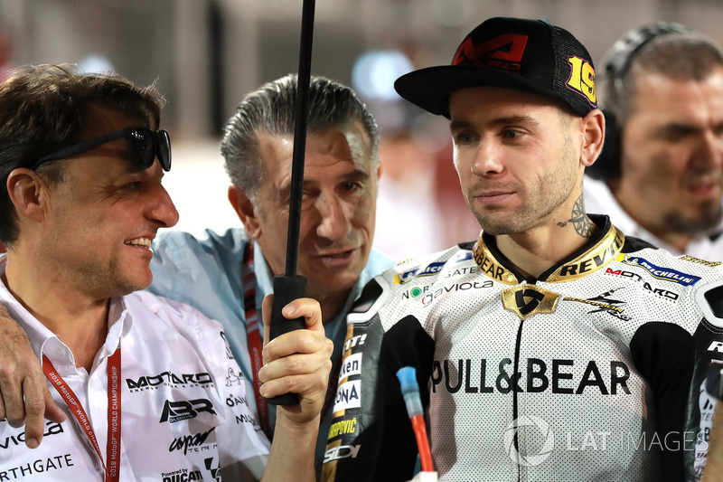 Alvaro Bautista, Angel Nieto Team, Jorge Martinez, Team Manager Aspar Racing Team
