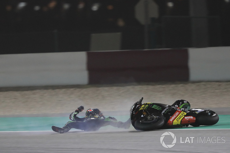 Аварія Жоанна Зарко, Monster Yamaha Tech 3