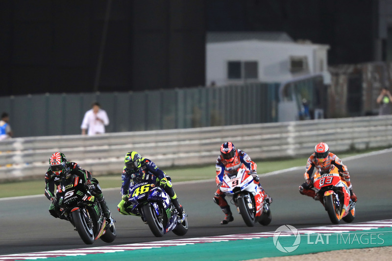 Жоанн Зарко, Monster Yamaha Tech 3, Валентино Россі, Yamaha Factory Racing