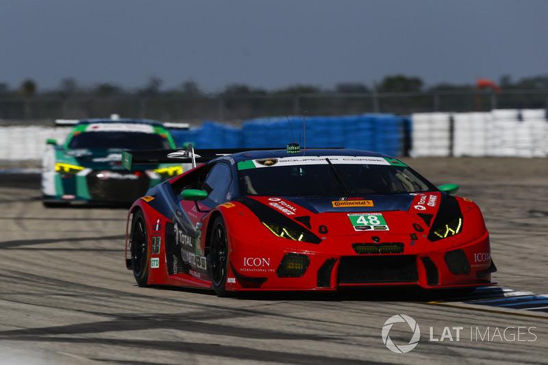 Мэдисон Сноу, Брайан Селлерс, Брайс Миллер, Paul Miller Racing, Lamborghini Huracan GT3 (№48)