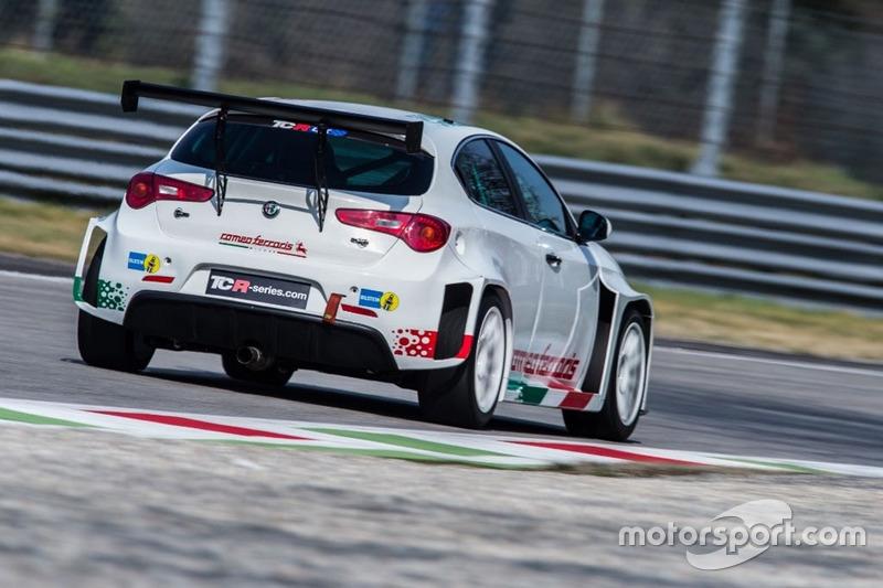 Fabrizio Giovanardi, Alfa Romeo Giulietta TCR by Romeo Ferraris