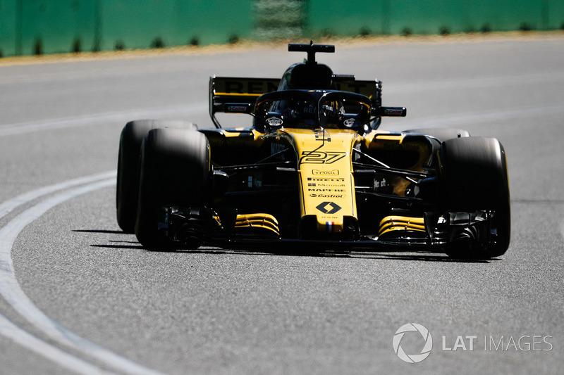 7. Nico Hülkenberg, Renault Sport F1 Team RS18