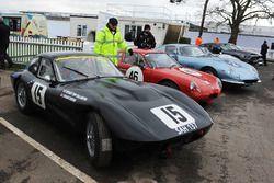 Ronnie Hoare Trophy Richard Dodkins Triumph TR4 SLR