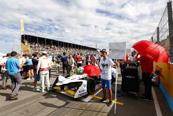 Lucas di Grassi, Audi Sport ABT Schaeffler, grid kid