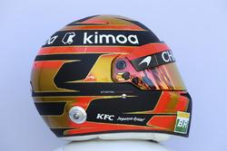 Le casque de Stoffel Vandoorne, McLaren
