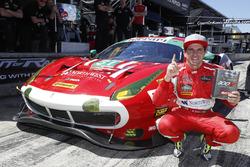 Обладатель поула в GTD Даниэль Серра, Spirit of Race