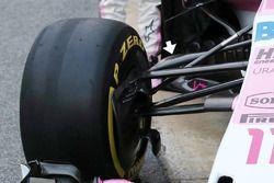 Sahara Force India VJM11 detail front suspension