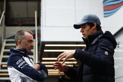 Paddy Lowe, Williams technical director, Lance Stroll, Williams