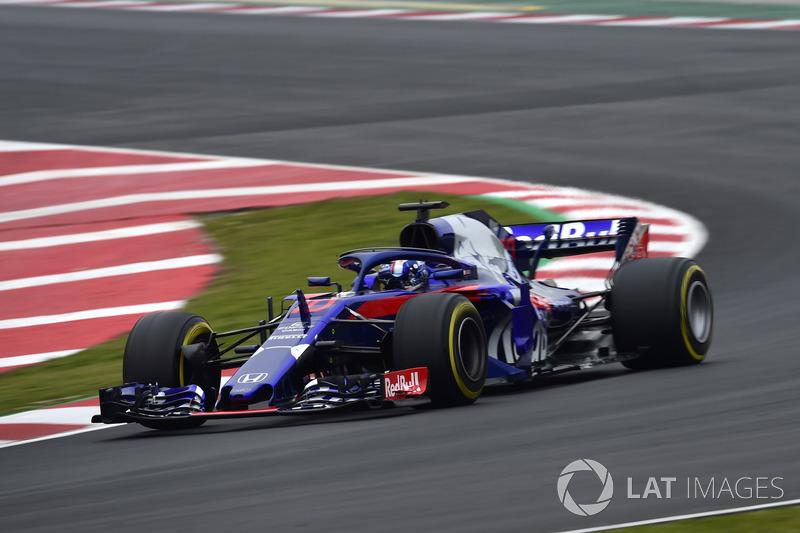 2018: Scuderia Toro Rosso STR13