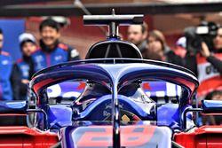 Toro Rosso STR13 halo