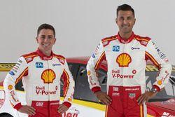 Tony D'Alberto, Fabian Coulthard, DJR Team Penske Ford