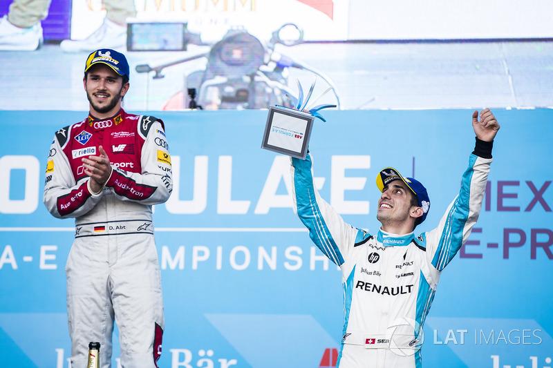 Sébastien Buemi, Renault e.Dams. & Daniel Abt, Audi Sport ABT Schaeffler