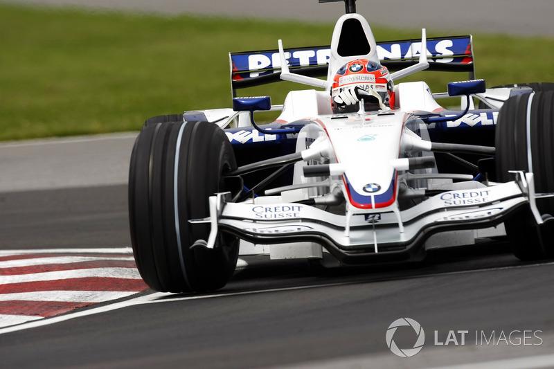 9: Robert Kubica (Sauber-BMW) 23 anos 06 meses 01 dia, Canadá 2008