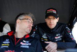 Sébastien Bourdais, Dale Coyne Racing with Vasser-Sullivan Honda, ingeniero Craig Hampson