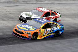 Ricky Stenhouse Jr., Roush Fenway Racing, Ford Fusion SunnyD and D J Kennington, Gaunt Brothers Racing, Toyota Camry, Gaunt Brothers Racing