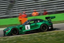 #6 Black Falcon Mercedes-AMG GT3: Hubert Haupt, Gabriele Piana, Abdulaziz Al Faisal
