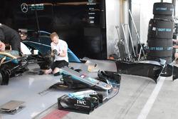 Mercedes AMG F1 W09 alerón delantero