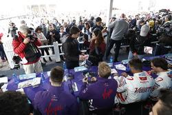 Alex Lynn, DS Virgin Racing, Sam Bird, DS Virgin Racing, Jose Maria Lopez, Dragon Racing, Jérôme d'A