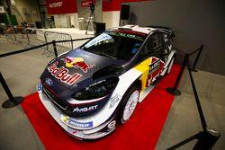 La Ford Fiesta WRC di Sébastien Ogier in esposizione