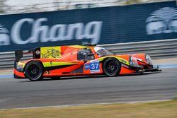 #37 Team BBT Ligier JS P2: Anthony Xu Liu, Davide Rizzo, Pipo Derani