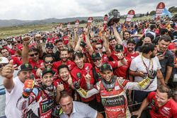 #68 Monster Energy Honda Team Honda: José Ignacio Cornejo Florimo and #47 Monster Energy Honda Team: