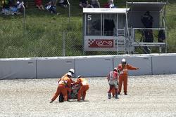 Andrea Dovizioso, Ducati Team na de crash