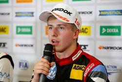 Conférence de presse, Jüri Vips, Motopark Dallara F317 - Volkswagen