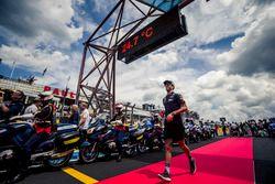 Daniel Ricciardo, Red Bull Racing tijdens de rijdersparade