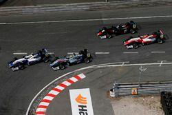 Arrancada Robert Shwartzman, PREMA Theodore Racing Dallara F317 - Mercedes-Benz