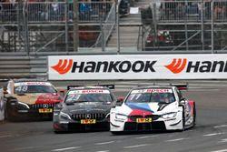Marco Wittmann, BMW Team RMG, BMW M4 DTM, Daniel Juncadella, Mercedes-AMG Team HWA, Mercedes-AMG C63 DTM, Edoardo Mortara, Mercedes-AMG Team HWA, Mercedes-AMG C63 DTM