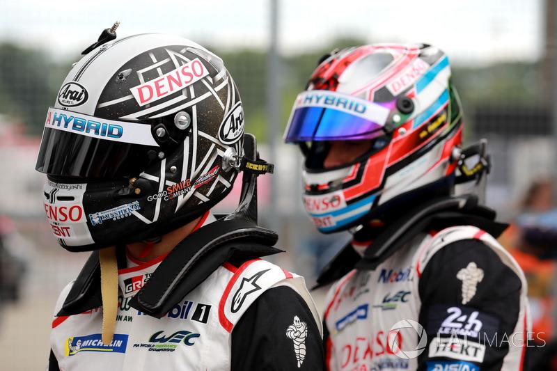 #7 Toyota Gazoo Racing Toyota TS050: Kamui Kobayashi, Jose Maria Lopez