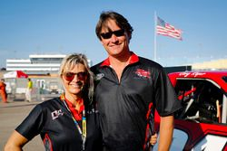 Cory Roper, Roper Racing, Ford F-150 Preferred Industrial Contractors, Inc. and wife Cherie Roper