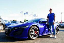 Pierre Gasly, Toro Rosso avec une Honda NSX