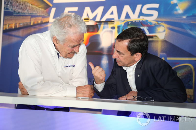 Hugues de Chaunac, ORECA, Pierre Fillon, Presidente ACO