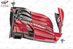 Ferrari SF71H new front wing