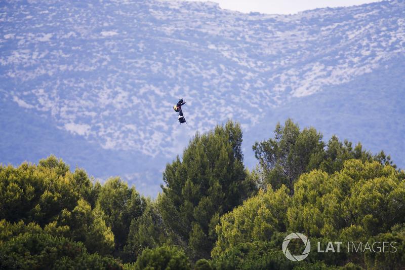 El Zapata Flyboard Air en la salida