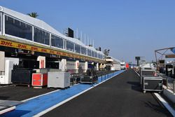 Pit lane and freight