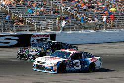 Austin Dillon, Richard Childress Racing Chevrolet and Joey Gase, Tommy Baldwin Racing Chevrolet