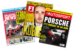 Nuestras revistas: Motorsport News, F1 Racing, Autosport