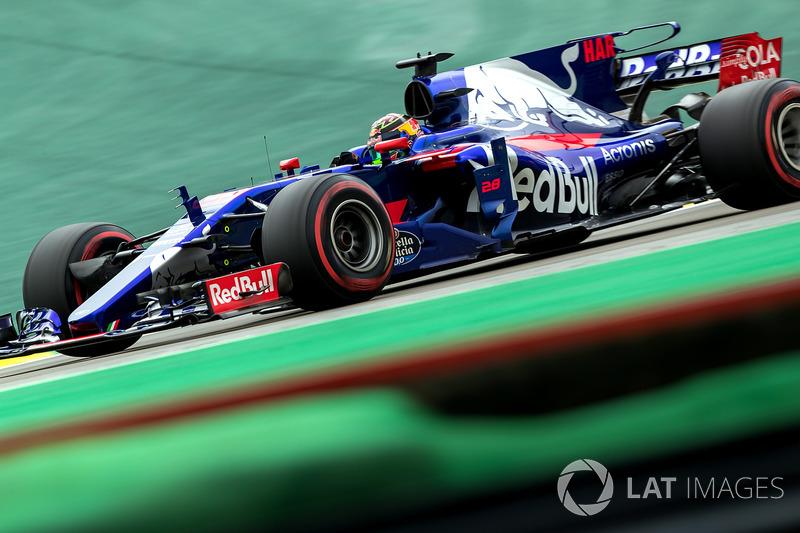 18: Brendon Hartley, Scuderia Toro Rosso STR12 (penalti 10 grid)